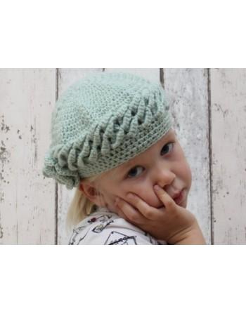 Vintage groen hoedje